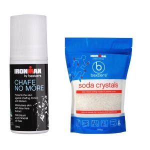 Ironman by Bexters Chafe No More Roll-On - 50mL + Bexters Soda Crystals